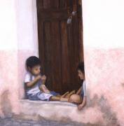 Frances  Dillon - Doorway in Taxco