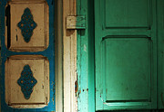 Tunisia Prints - Doorway In Tunisia 4 Print by Bob Christopher