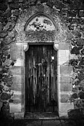 Royal Chapel Photos - Doorway Of The Chapelle Royale Pyrga Republic Of Cyprus Europe by Joe Fox