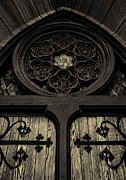 Parishioners Prints - Doorway To Faith - First Presbyterian Church of Salt Lake City Print by Steven Milner