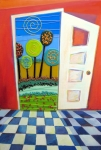 Anne Nye Acrylic Prints - Doorway To Somewhere Acrylic Print by Anne Nye