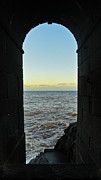 Doorway To The Sea Print by Nabucodonosor Perez