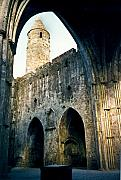 Portal Framed Prints - Doorways to the Cashel Castle Framed Print by Douglas Barnett