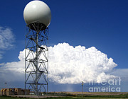 Data Photos - Doppler Radar And Supercell by Science Source