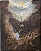 Damnation Metal Prints - DorÉ: Last Judgment Metal Print by Granger