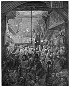 London Shopping Posters - Dore: Billingsgate, 1872 Poster by Granger