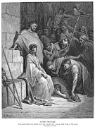 Gospel Photo Prints - Dore: Christ Mocked Print by Granger