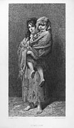 1869 Framed Prints - DORE: HOMELESS, c1869 Framed Print by Granger