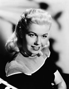 Doris Day Framed Prints - Doris Day, 1949 Framed Print by Everett