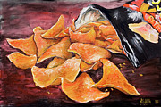 Chips Paintings - Doritos by Nik Helbig