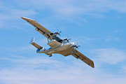Airplane Prints - Dornier Do-24 Print by Adam Romanowicz