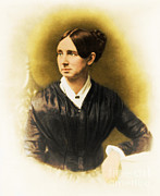 Asylums Posters - Dorothea Dix, American Reformer Poster by Photo Researchers