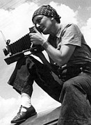 Self-portrait Photo Prints - Dorothea Lange (1895-1965) Print by Granger