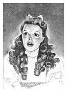 Judy Garland Framed Prints - Dorothy Framed Print by Carl Wolfe