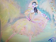 Stage Painting Originals - Dorothy Dancer by Judith Desrosiers