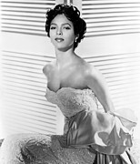 Strapless Dress Prints - Dorothy Dandridge, Ca. 1950s Print by Everett