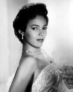 Strapless Dress Framed Prints - Dorothy Dandridge, No Date Framed Print by Everett