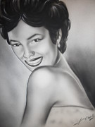 Dandridge Framed Prints - Dorothy Dandridge Framed Print by Terrence ONeal