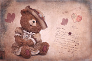 Love Letter Mixed Media Prints - Dorothy in love Print by Angela Doelling AD DESIGN Photo and PhotoArt