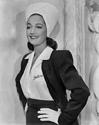 Turban Framed Prints - Dorothy Lamour, Ca. 1942 Framed Print by Everett