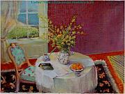 Interior Morning Paintings - Dorothy s  View   copyrighted by Kathleen Hoekstra