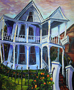 Charleston Houses Paintings - Dorothys by Jennifer Koach
