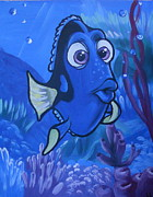 Dory Paintings - Dory by Lisa Leeman
