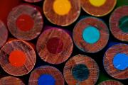 Crayons Photos - Dotty by Lisa Knechtel