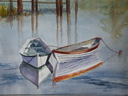 Calm Waters Originals - Double Dories by Marion Hall