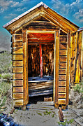 Outhouse Framed Prints - Double Header Framed Print by Cheryl Young