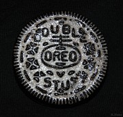 Popart Digital Art Originals - Double Stuff Oreo by Rob Hans