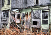 Abandoned Houses Photo Metal Prints - Double Xs Metal Print by Emily Stauring