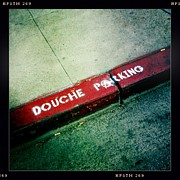Douche Parking Print by Nina Prommer