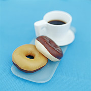 Doughnuts Photo Prints - Doughnuts Print by David Munns