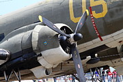 Douglas Dc-3 Framed Prints - Douglas C47 Skytrain Military Aircraft 7d15775 Framed Print by Wingsdomain Art and Photography
