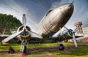 Museo Del Ejercito Del Aire Prints - Douglas DC-3  Print by Miguel Diaz