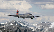 Scenery Digital Art - Douglas DC3 - Dakota by Pat Speirs