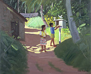 Sri Lanka Framed Prints - Dovecote Framed Print by Andrew Macara