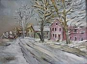 Dover Nh Storm Stillness  Print by Michel      Croteau