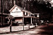 Fairmount Park Prints - Down at Valley Green Print by Bill Cannon