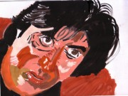 Himself Paintings - Down but not out. by Saurabh Turakhia