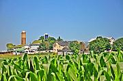 Corn Digital Art Prints - Down on the Farm Print by Bill Cannon
