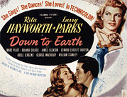 Hayworth Posters - Down To Earth, Rita Hayworth, Larry Poster by Everett