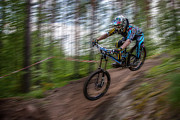 Extreme Lifestyle Prints - Downhill Race Print by Ari Salmela