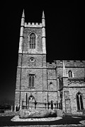 Downpatrick Down Church Of Ireland Cathedral St Patricks Grave Print by Joe Fox