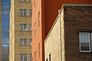 Residential Structure Prints - Downtown Apartment Buildings, Winnipeg, Manitoba, Canada Print by Design Pics / Keith Levit