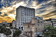Appleton Photo Metal Prints - Downtown Appleton Skyline Metal Print by Shutter Happens Photography