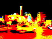 Urban Landscape Art Prints - Downtown Beirut Print by Funkpix Photo  Hunter