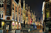 Ypres Prints - Downtown Bruges Belgium  Print by Travel Images Worldwide