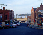 Downtown Eastport Maine Print by Geri Harkin-Tuckett